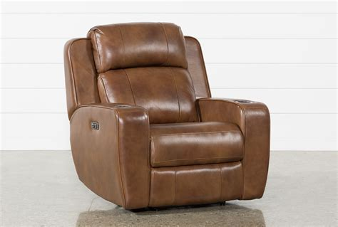 wallaway reclining loveseat phelps leather power wallaway recliner w power headrest
