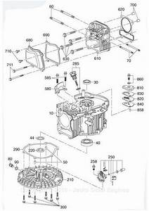 Robin  Subaru Ea190v Parts Diagram For Crankcase