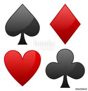 Card Diamond Spade Heart Club Symbols
