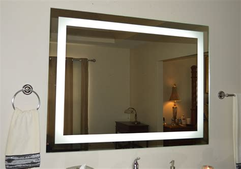 Vanity Lighted Mirror by Amazoncom Wall Mounted Lighted Vanity Mirror Led Mam