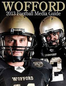 13 Wofford Football Media Guide by Wofford Athletics - Issuu