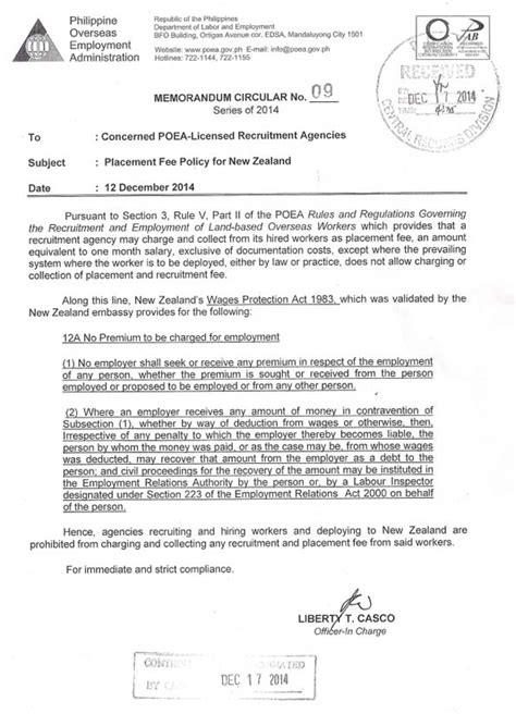 poea process for direct hire
