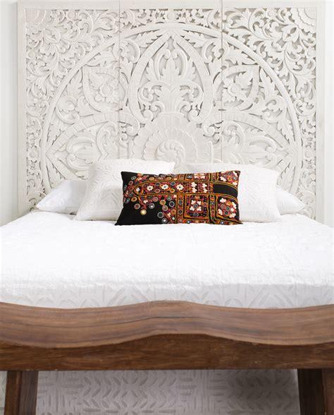 carved headboards kembang carved king size headboard  sa