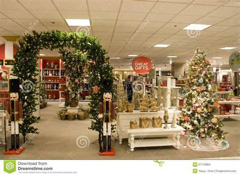 department store christmas decorations store decorations
