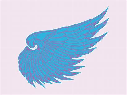 Angel Wing Vector Wings Clip Clipart Cliparts