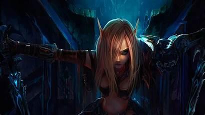 Wow Alliance Warcraft Horde Elf Woman
