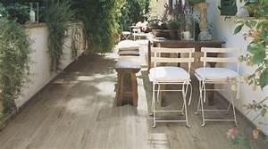 carrelage terrasse aspect bois With carrelage terrasse exterieur moderne