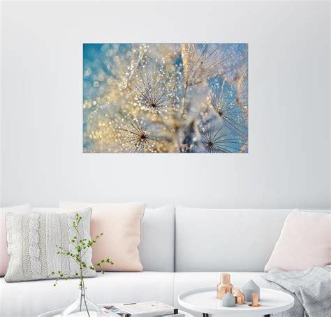 Posterlounge Wandbild  Julia Delgado »pusteblume Goldener