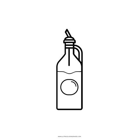 Coloring Oleo by Dibujo De Botella De Aceite Para Colorear Ultra Coloring