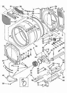 Bulkhead Parts Diagram  U0026 Parts List For Model Medz400tq1