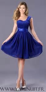 robe bleu roi mariage robe bleu roi