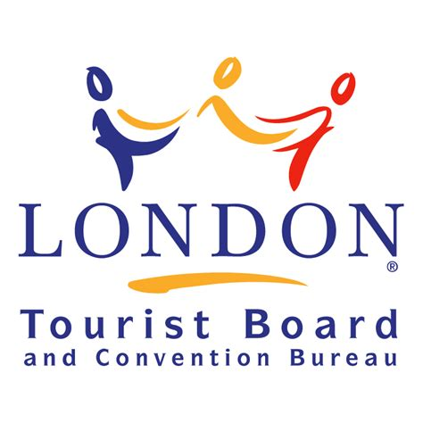 logo bureau tourist board and convention bureau 0 free vector