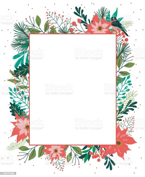 Season Greeting Card Merry Christmas Card With Winter