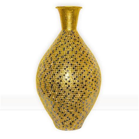 Gold Vase by Alhambra Regent Gold Surahi Jug Vase 30 Quot Metal Vase W