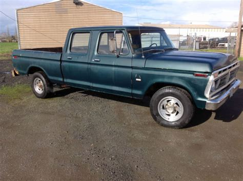 ford ranger 4 door 1976 ford f250 ranger xlt lariat crew cab highboy factory