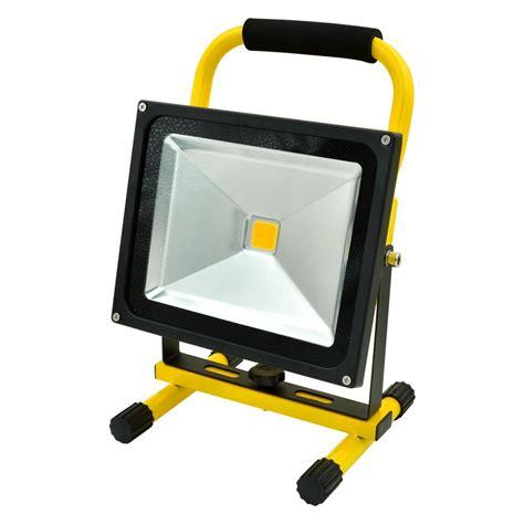 portable led lights mengsled mengs 174 30w portable led rechargeable flood