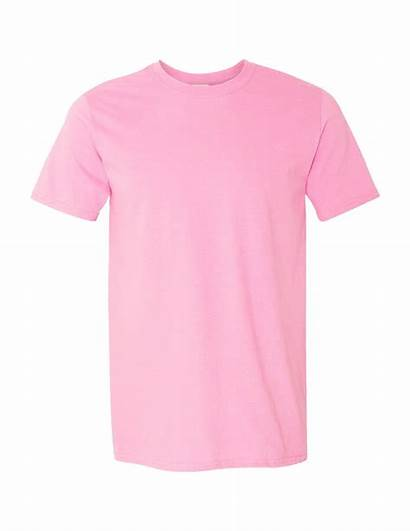 Shirt Pink Plain Transparent Shirts Tee Crewneck