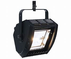 Floodlight theater lighting