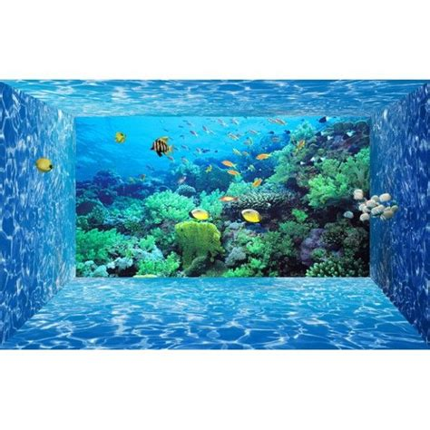 20 best images about papier peint 3d fond marin on 3d poster atelier and aquarium