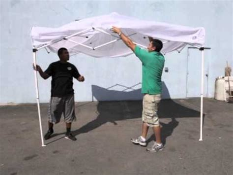 tent rental popup canopy ez  tent setup magic jump rentals youtube