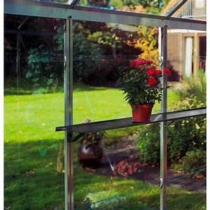 Etagere De Jardin : etag re en aluminium 150x15cm pour serre de jardin ~ Zukunftsfamilie.com Idées de Décoration