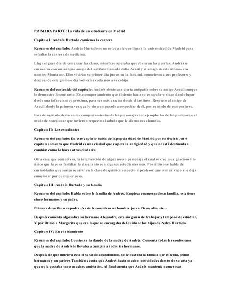 L Etranger Resumen Por Capitulos by Resumen Por Partes El 193 Rbol De La Ciencia