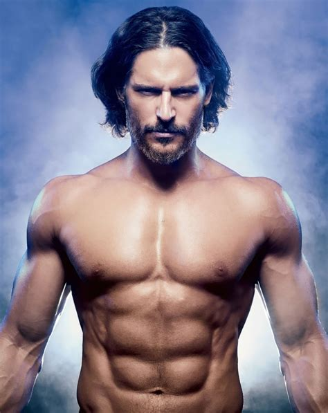 Muscle is a tissue in animal bodies. Eye Candy: Joe Manganiello for Muscle & Fitness | THE MAN CRUSH BLOG