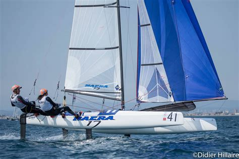 nacra   olympic catamaran nacra sailing worlds