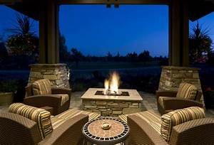 60 Backyard And Patio Fire Pit Ideas  Different Types With