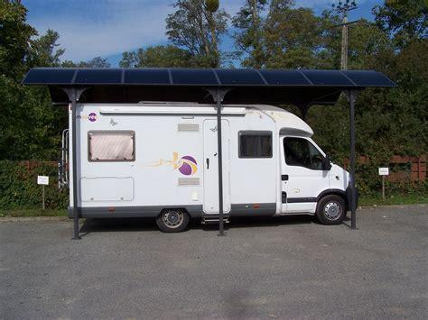 carport pour camping car 3,60x7,60 m en aluminium ; 27m2