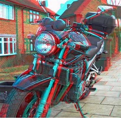 3d Anaglyph Glasses Motorcycle Bandit Suzuki Flickr