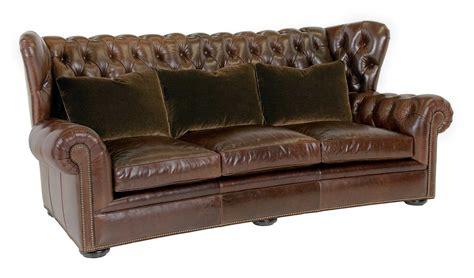 Classic Leather Pomeroy Tufted Sofa