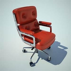 Fauteuil Charles Eames Original : eames charles fauteuil 3d max ~ Nature-et-papiers.com Idées de Décoration