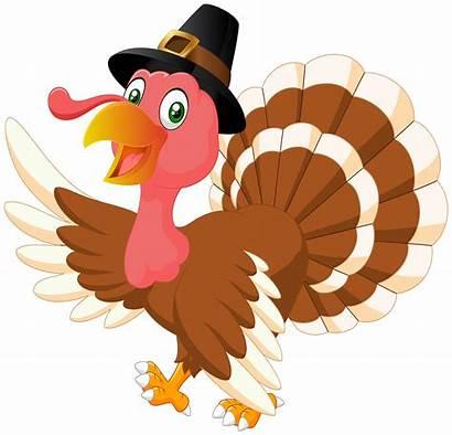 Turkey Thanksgiving Transparent Clip Clipart Cartoon Happy