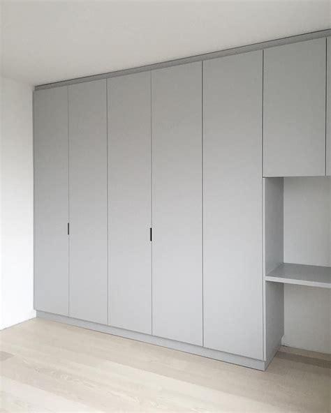 Ready Made Built In Cupboards by Custom Made Wardrobe Grey Built In Desk Minna Jones