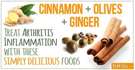arthritis pain natural food remedies ginger cinnamon