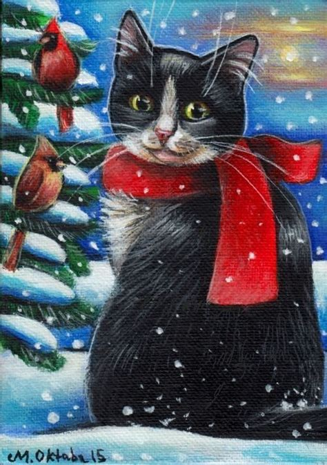 540 best images about cats paintings art on pinterest
