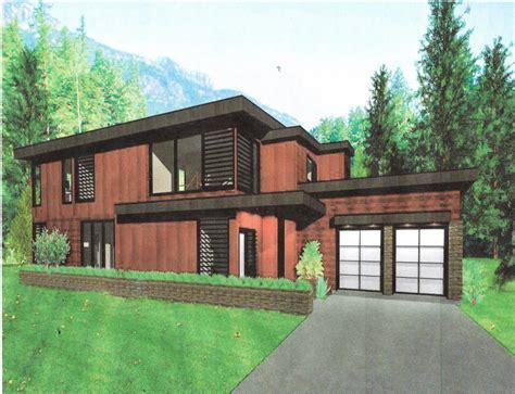 grandview modern flat roof design liscott custom homes