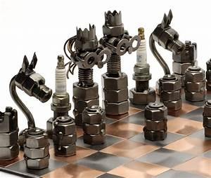 Jeu D échec Original : jeu d 39 checs design le dindon ~ Melissatoandfro.com Idées de Décoration