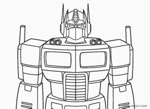 printable transformer coloring pages  kids