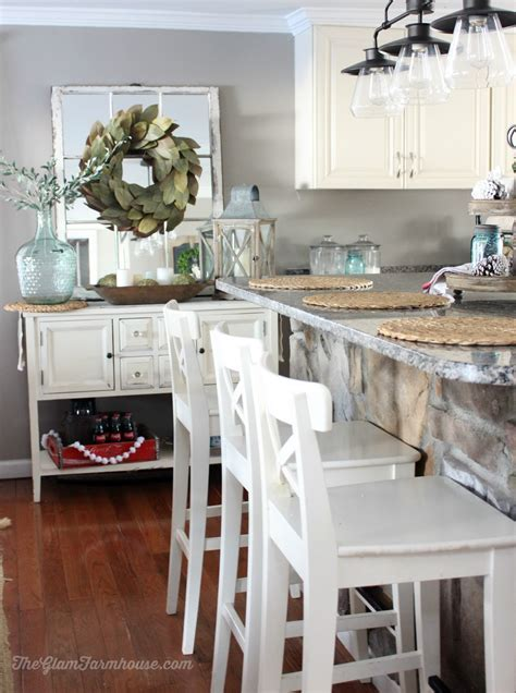 The Glam Farmhouse: Rustic Glam Dining Room Tour with