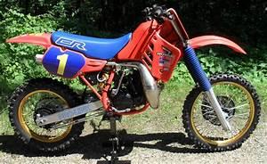 Honda 250 Cr : 1986 honda cr250 cr 250 restoration ~ Dallasstarsshop.com Idées de Décoration