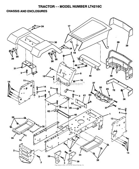 Ayp Electrolux Ltc Parts Diagram For Chassis