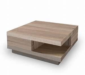 Table Basse Chene Clair : table basse moderne yalta ~ Teatrodelosmanantiales.com Idées de Décoration