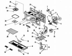 Maytag Mmv5207bab Microwave  Hood Combo Parts