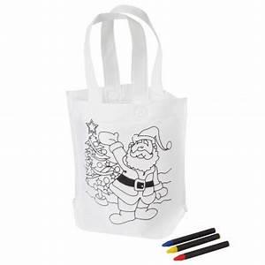 Weihnachtsgeschenke Zum Ausmalen : kindertasche santa zum ausmalen weihnachtsmann mit baum ~ Watch28wear.com Haus und Dekorationen