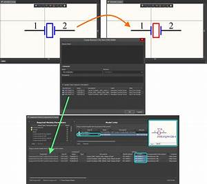 Develop Component Connection Processing Graphic Symbol Design