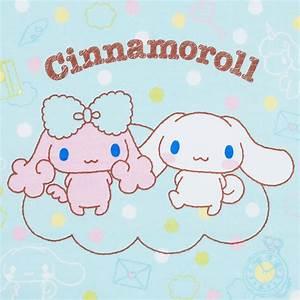 Cinnamoroll Cinnamon & Poron Bath Towel SANRIO JAPAN