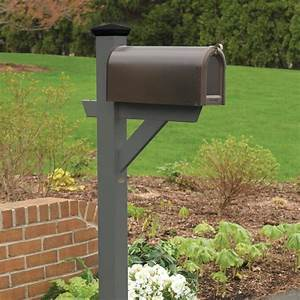 Highwood, The, Lawn, And, Garden, Collection, Coastal, Teak, Mailbox, Post, In, The, Mailbox, Posts