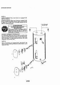 Kenmore Endura Electric Water Heater Parts